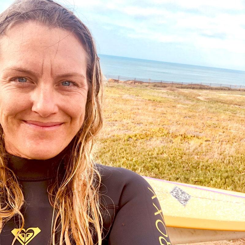 april edwards surfer
