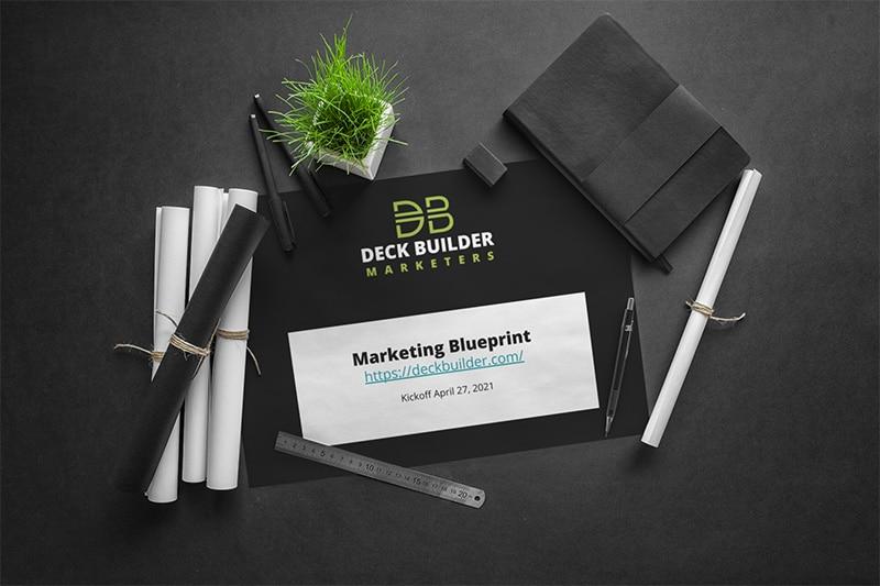 deck builder marketing plan